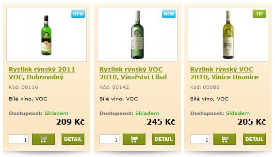bílé víno voc vinaři znojmo